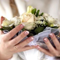 svad manikur Весільний манікюр