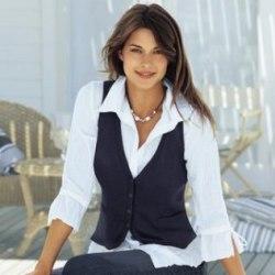 Модные женские жилеты